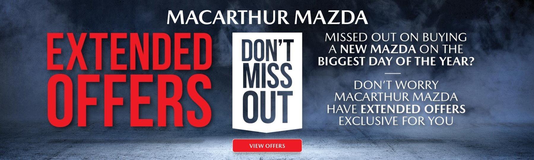 Macarthur Mazda - Extended Sale