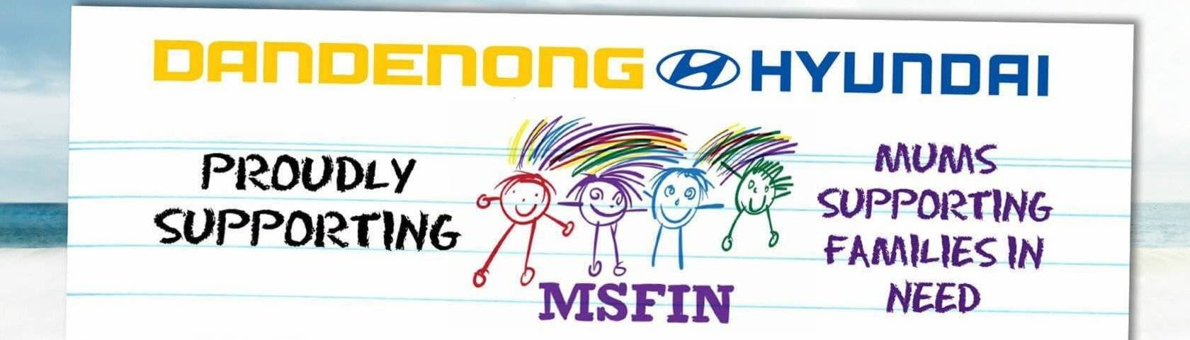 Proudly Supporting MSFIN