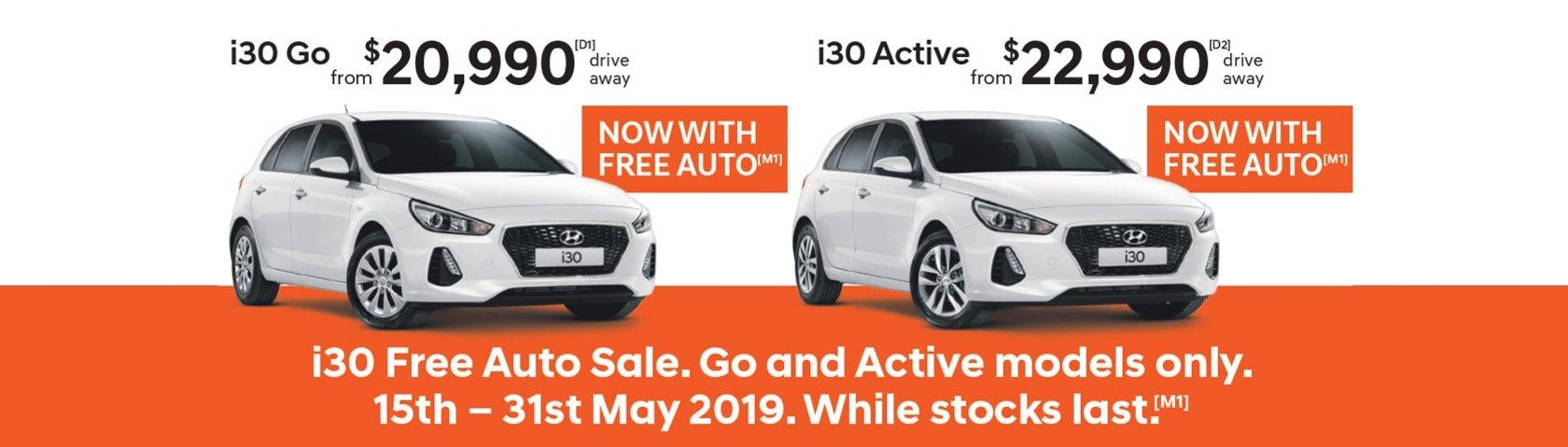 Hyundai i30 Sale