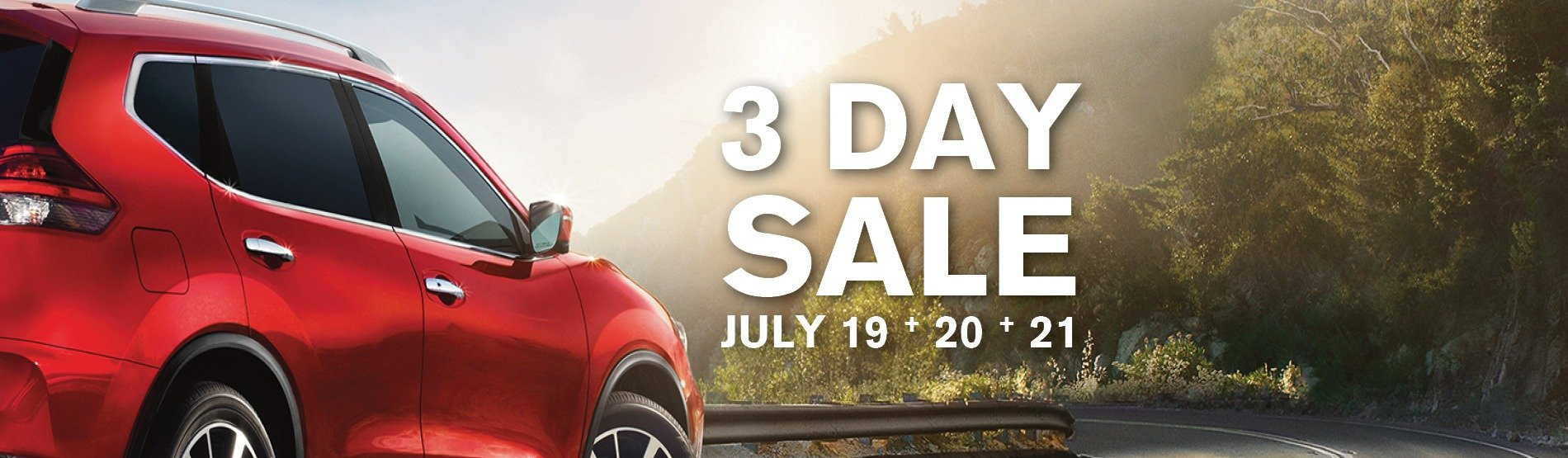 Maitland Nissan 3 day sale