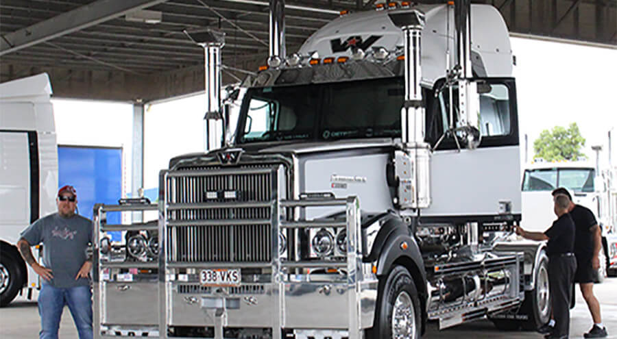 blog large image - You've Never Seen a Truck Like This! Guests Enjoy a First Hand Look at the New Limited Editions Western Star Roadstar.