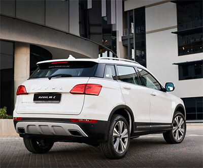 New Haval H6 C bows in image