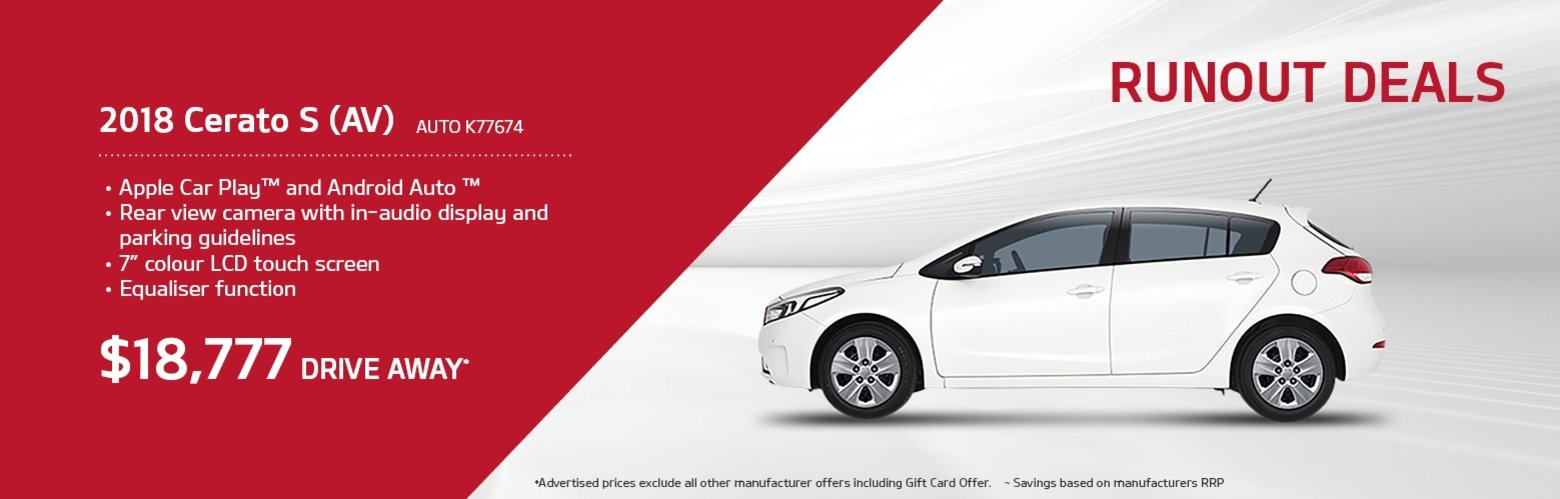 maitland kia special offers
