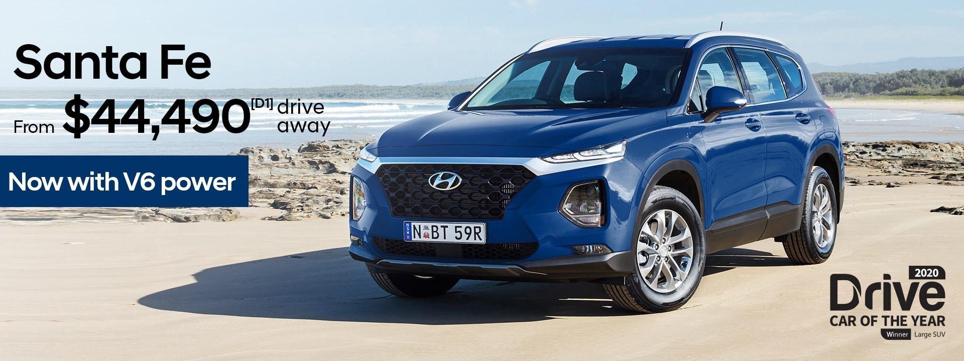 Dandenong Hyundai   Santa Fe Clearance