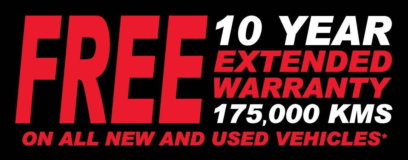 10 Year Extended Warranty