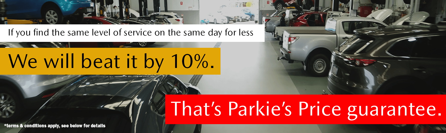 Parkland Mazda Best Price Guarantee