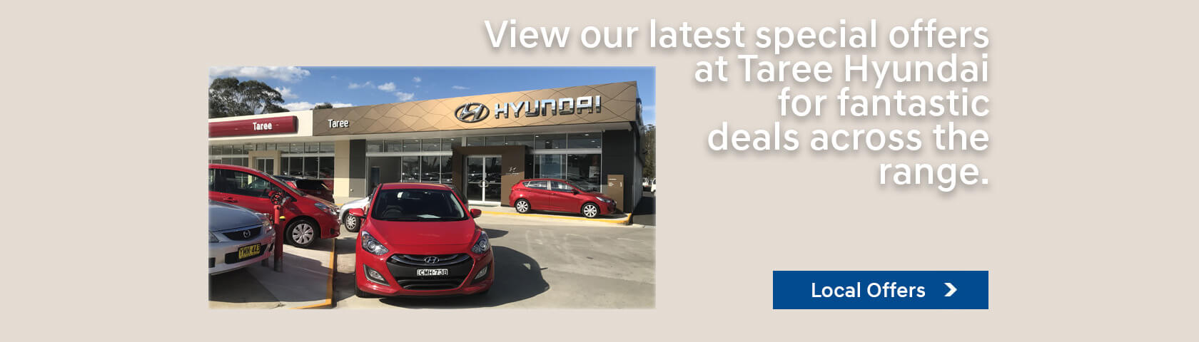 Taree Hyundai Local Offers