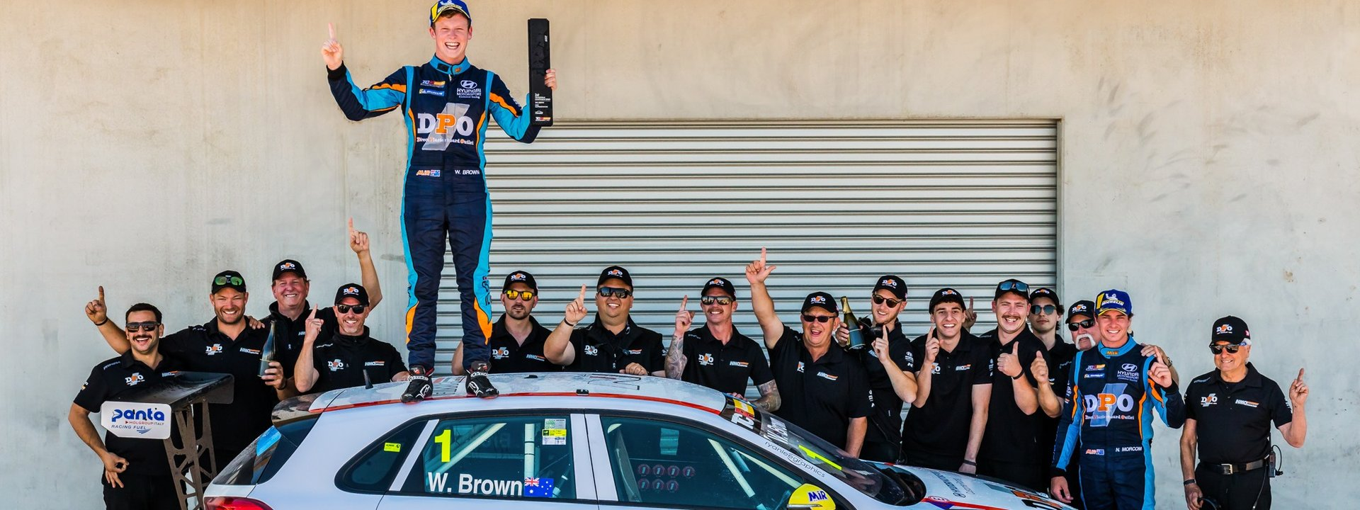 Will Brown TCR Champ