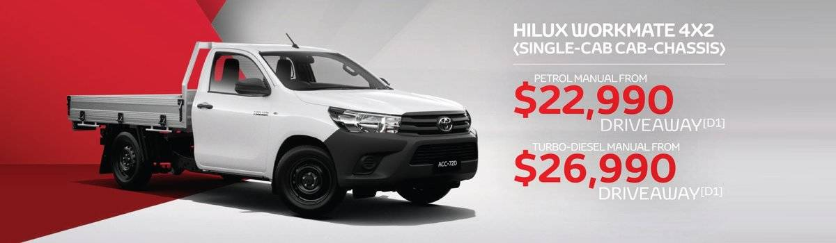 Waverley Toyota's EOFY Sale on HiLux 4x2 Large Image