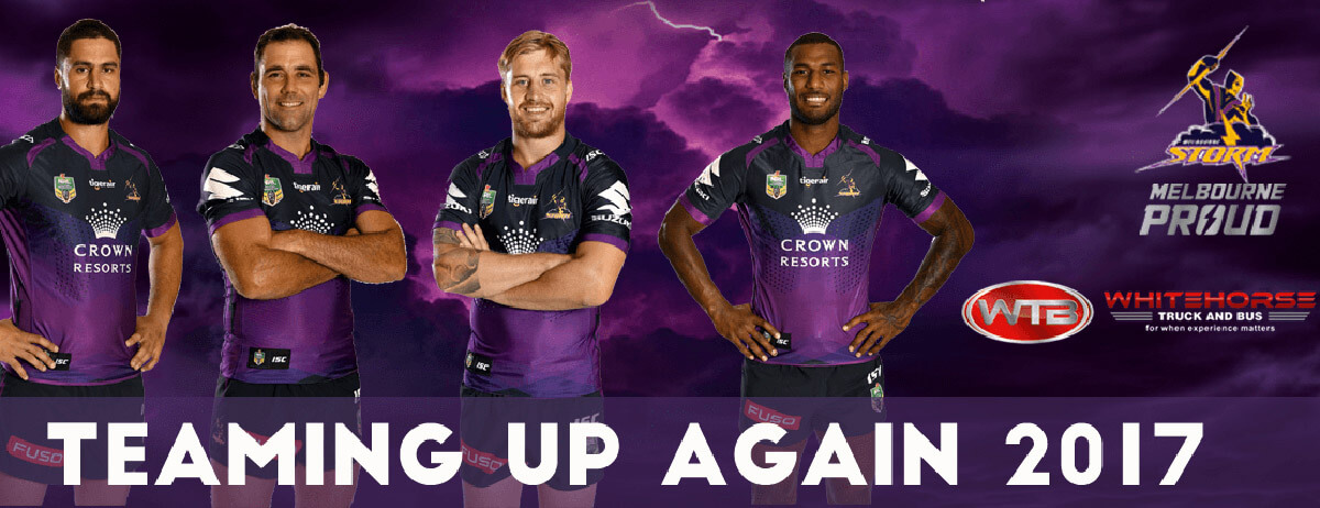 Whitehorse Truck and Bus and the Melbourne Storm