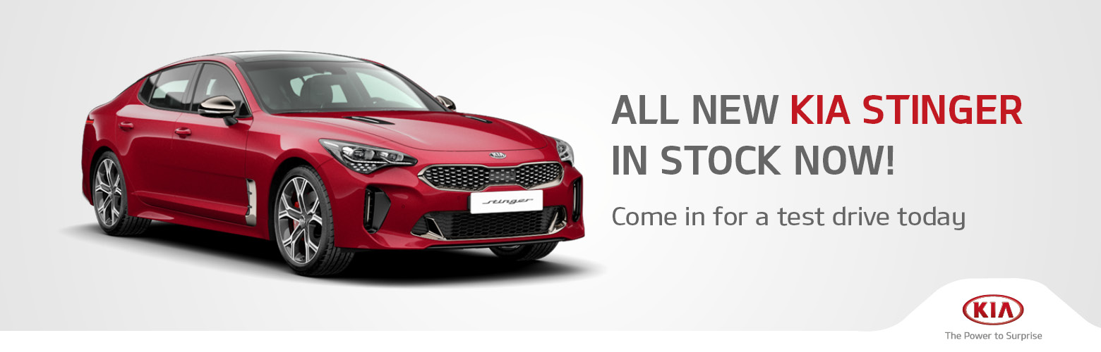 Newcastle City Kia Stinger Specials