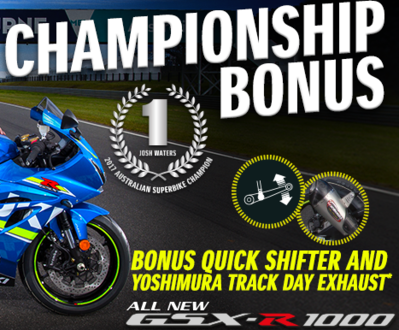 Josh Water's Championship Bonus image