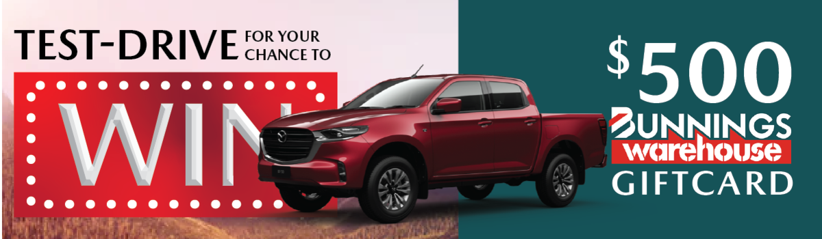 Test drive and WIN a $ 500 Bunnings Giftcard Large Image