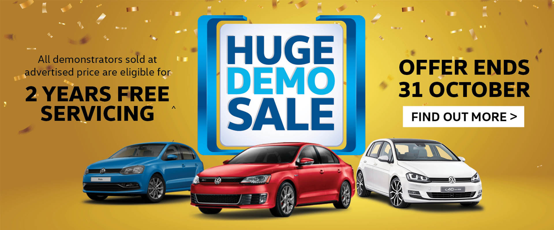 Peninsula Volkswagen Huge Demo Sale
