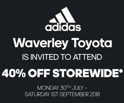 Special Adidas Offer - 40% off!  image
