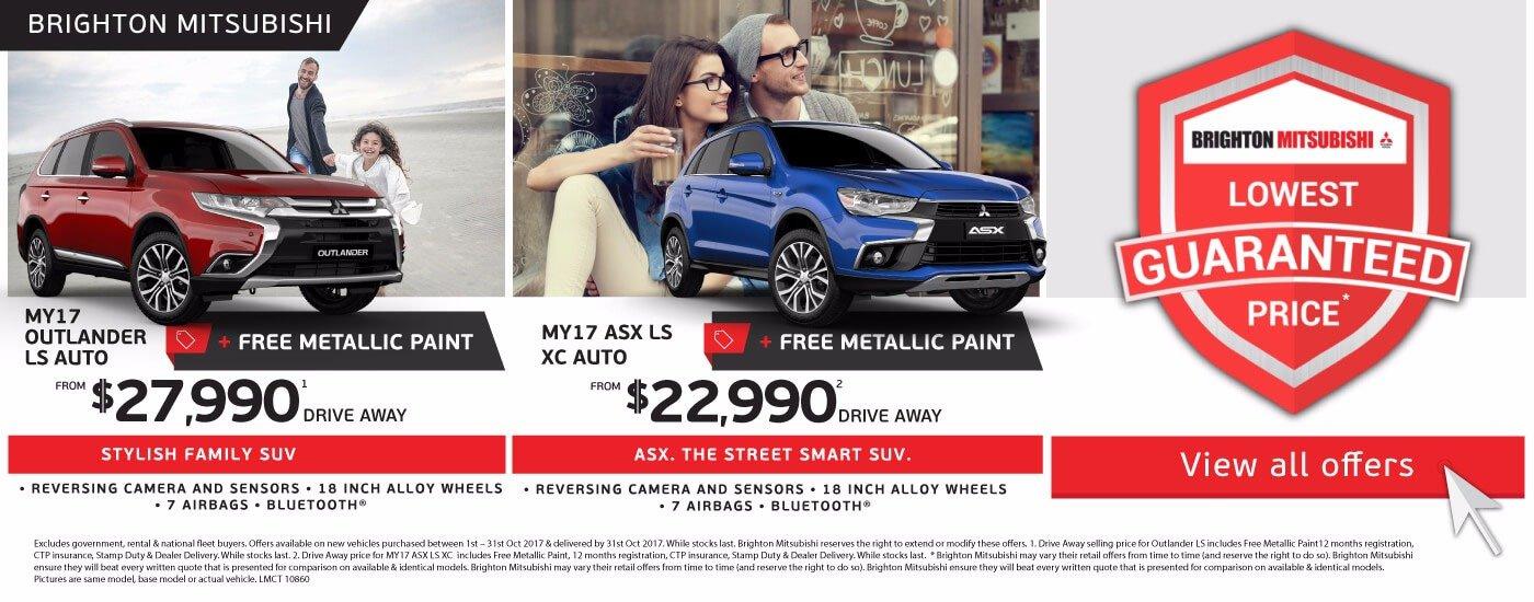 Brighton Mitsubishi Lowest Price Guaranteed