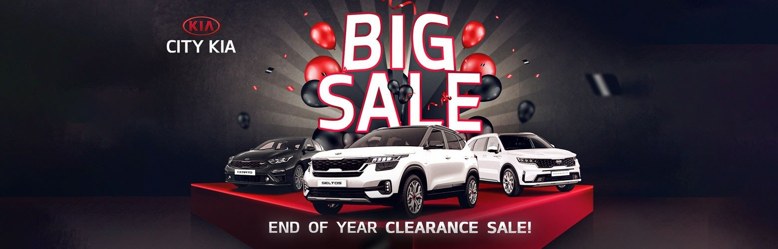 City KIA Big Sale - End of Year Clearance Sale