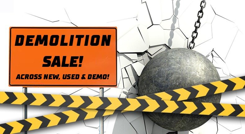 DEMOLITION SALE ON NOW! Small Image
