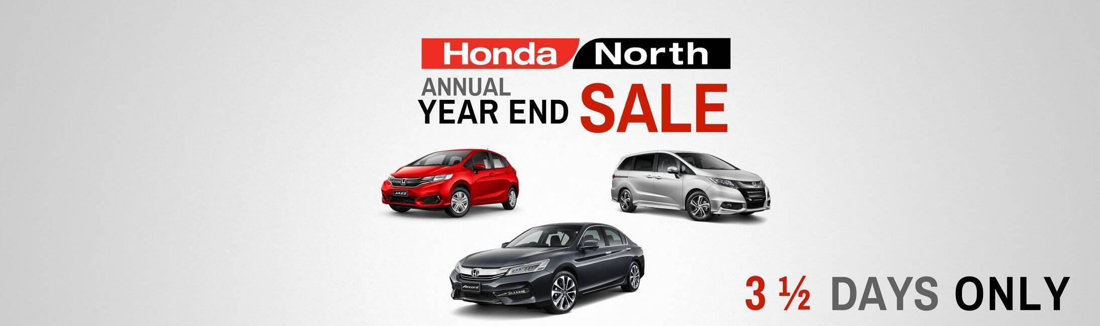 HondaNorth-Year End Sale