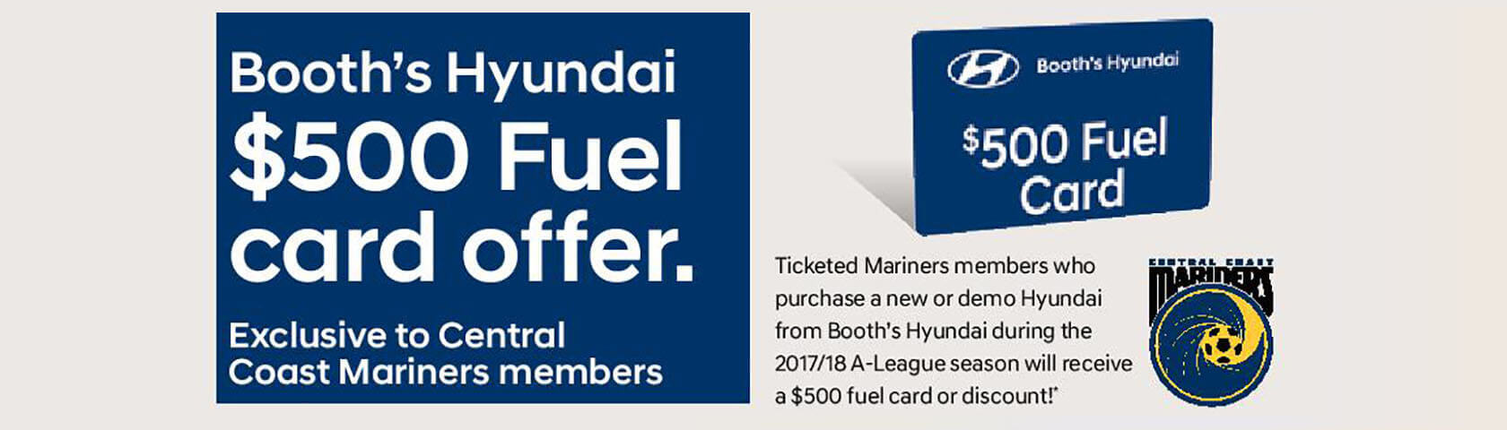 BoothsHyundai-500 Fuel Card Offer