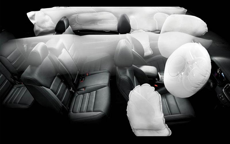 New Sorento - Airbags