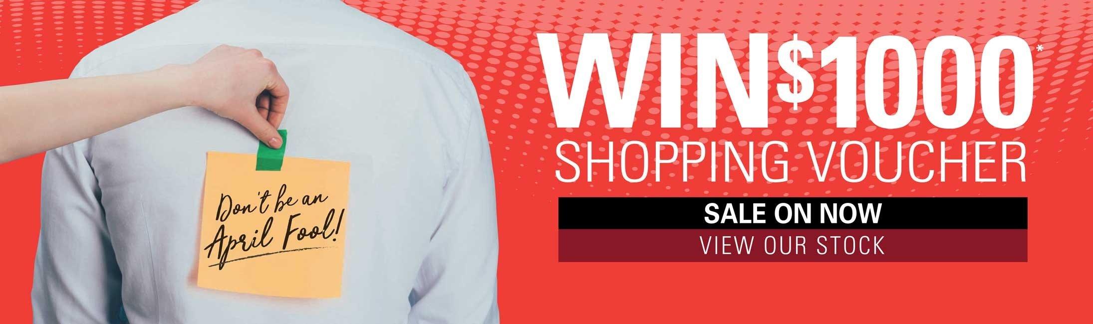 Win shopping voucher