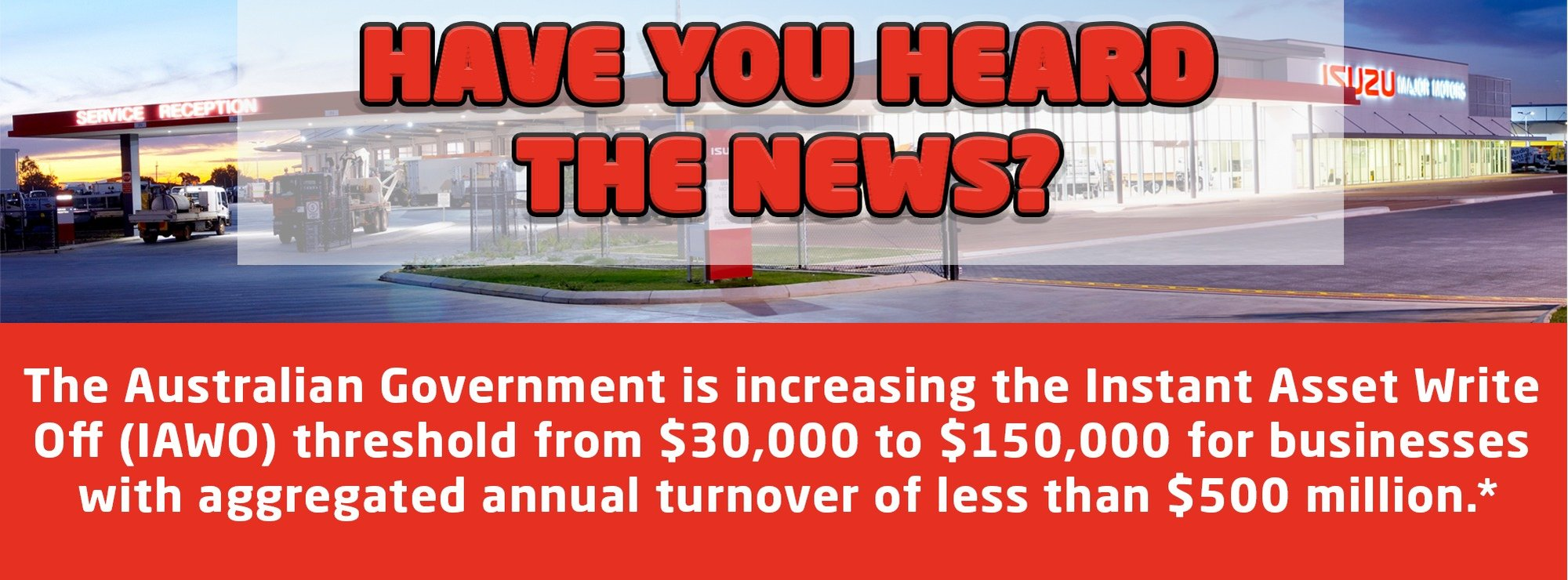 The Australian Government has announced a new Investment Incentive.