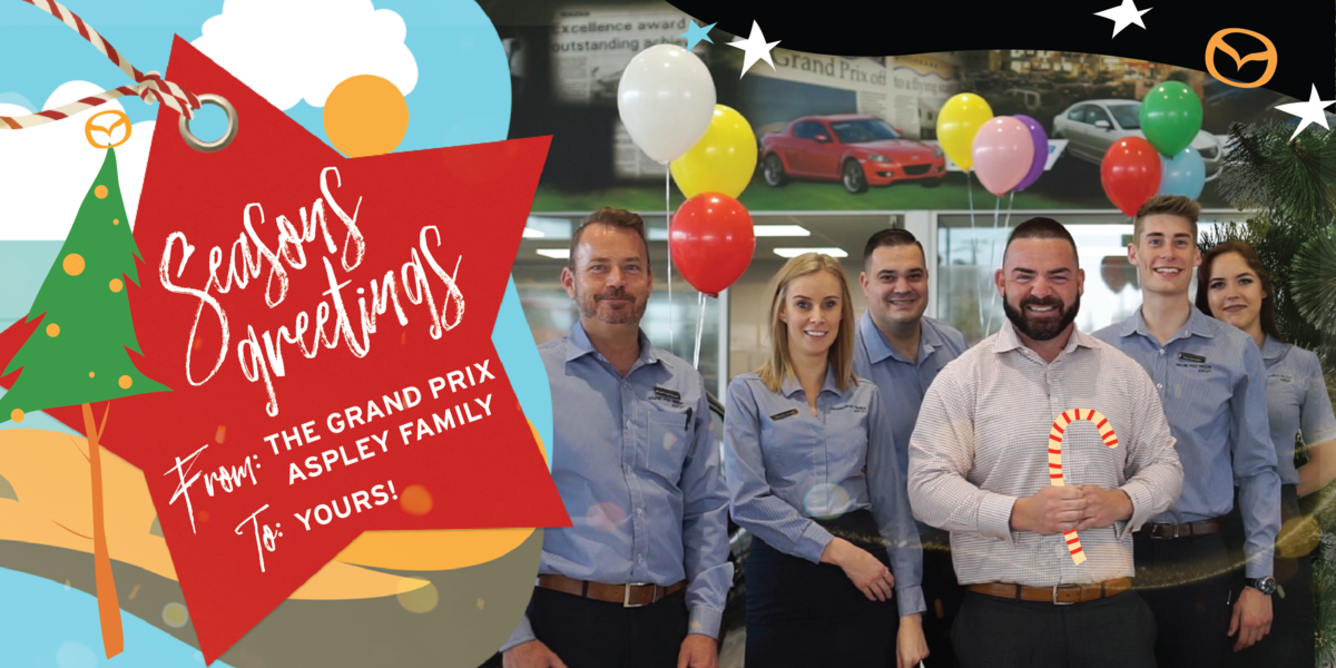 blog large image - Happy Holidays from the Grand Prix Mazda Aspley Family
