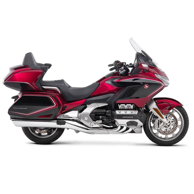 2018 Goldwing Tour Premium Handling