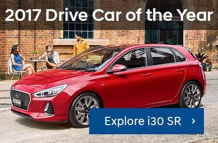 HYUNDAI I30 SR WINS DRIVE CAR OF THE YEAR Promotion