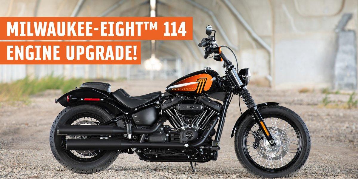 blog large image - Harley Davidson's® New 2021 Street Bob™ 114