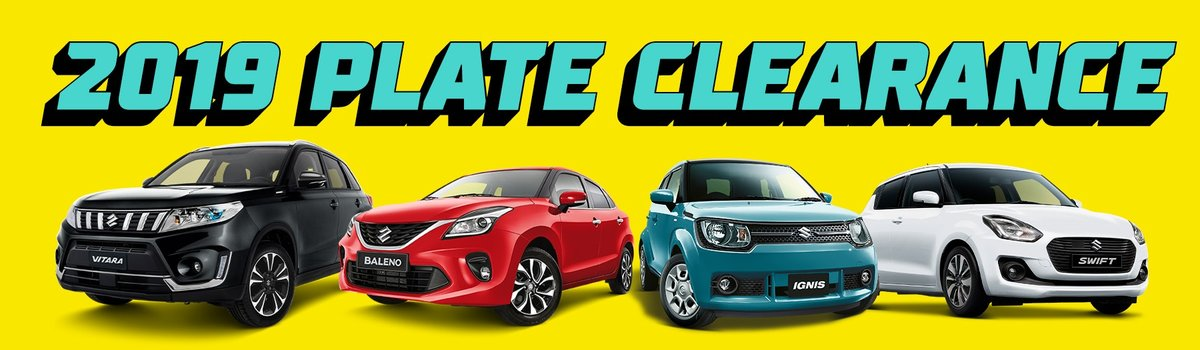 Penfold Suzuki's 2019 Plate Clearance is on now! Large Image