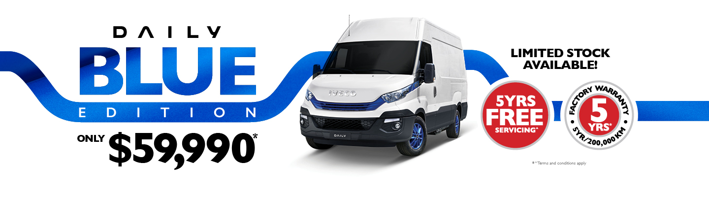 Iveco Daily Blue Edition