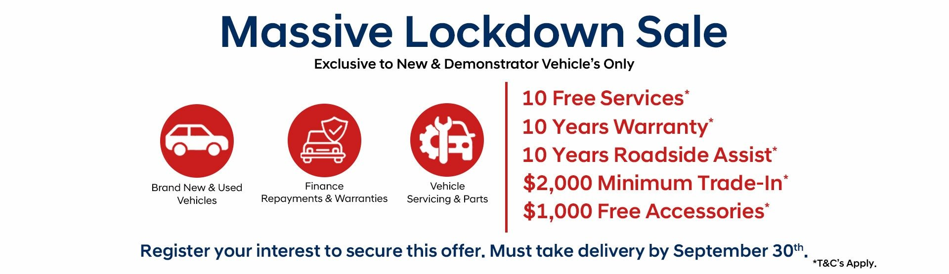 Dandenong Nissan - Massive Lockdown Sale