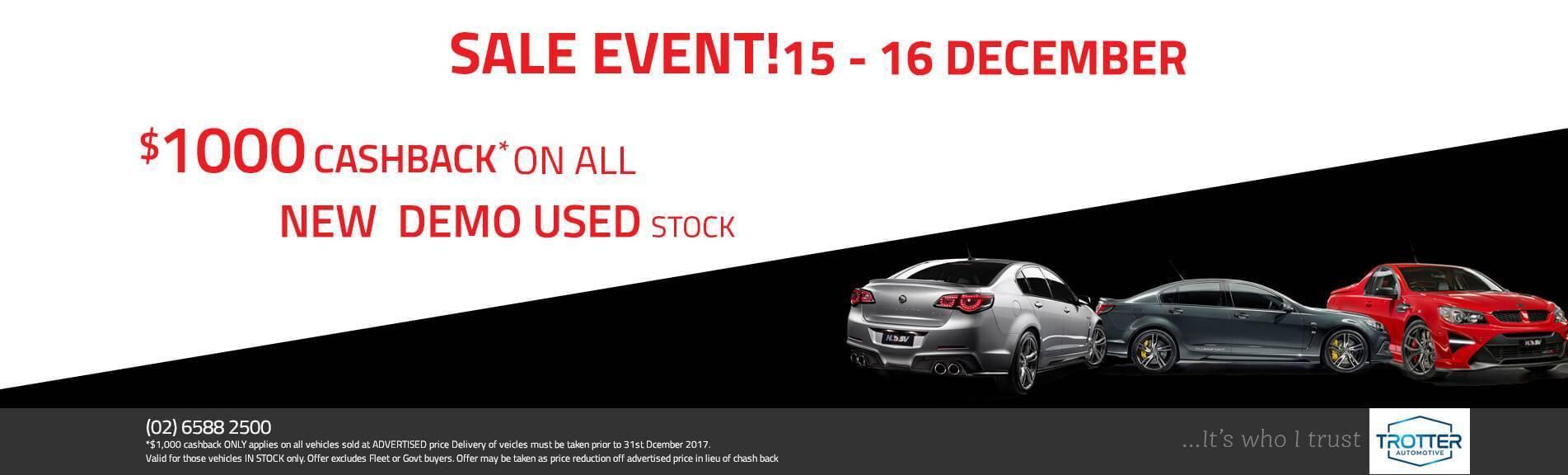 Port Macquarie HSV Sale Event