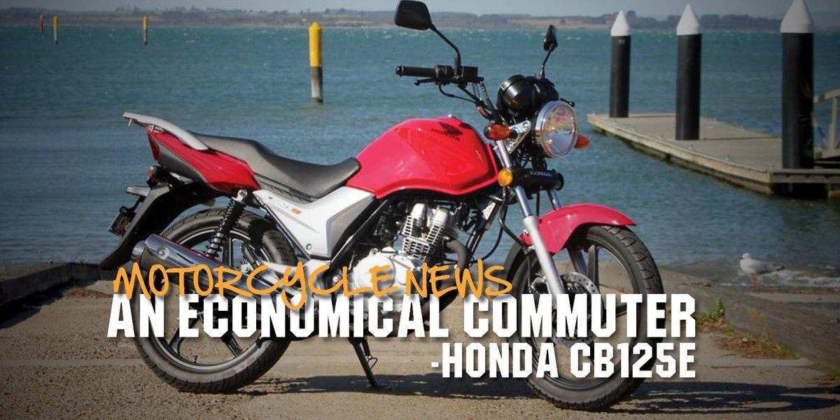 blog large image - An Economical Commuter | Honda CB125e