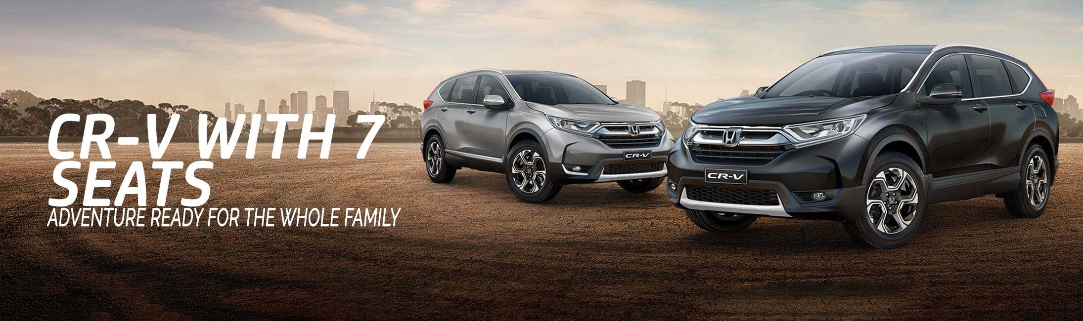 All new CRV test