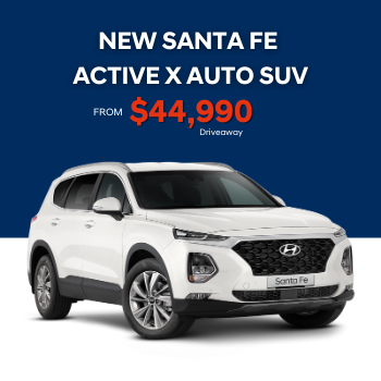 NEW SANTA FE ACTIVE X 2.2L Diesel Automatic Small Image