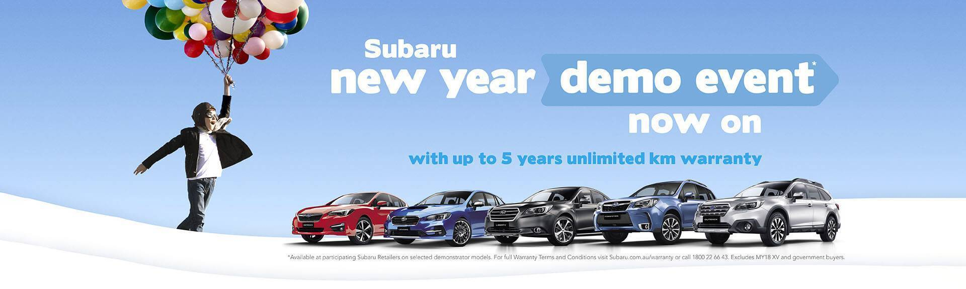Subaru Demo Event