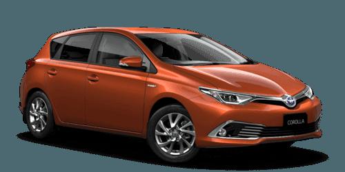 Corolla Hybrid Showroom Image