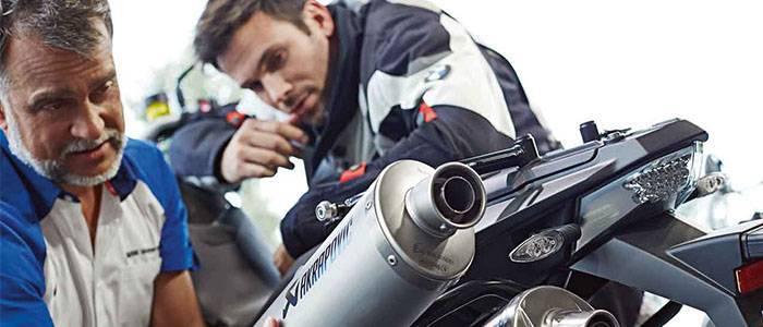 Frankston BMW Motorrad Service