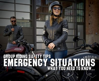 Group Riding Safety Tips: Emergency Situations image
