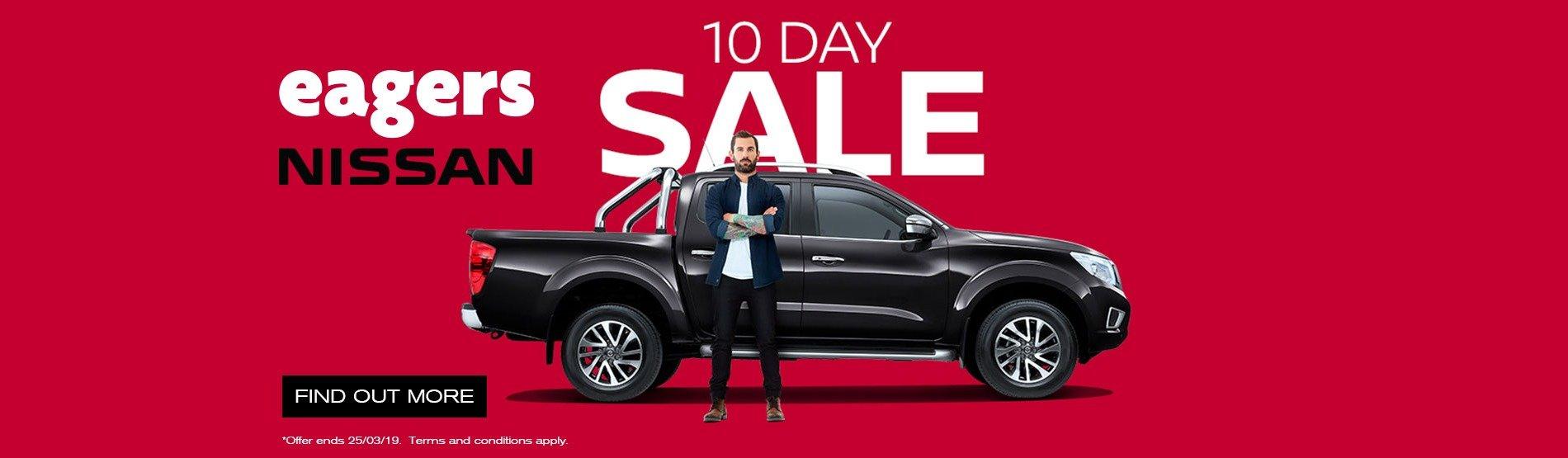 nissan 10 day sale