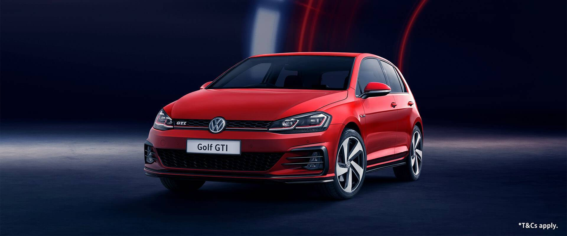 Volkswagen Win a Golf GTI Competition