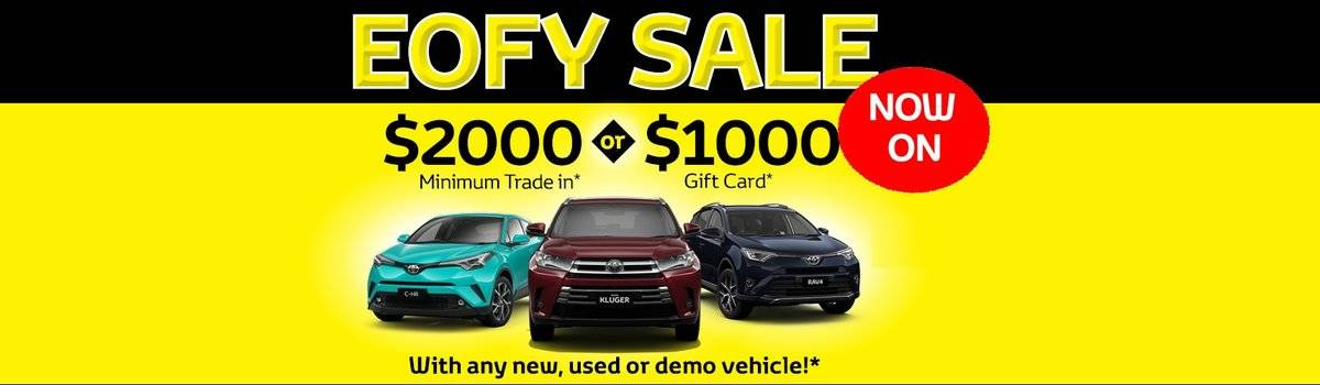 Waverley Toyota's EOFY Sale is on now! Large Image