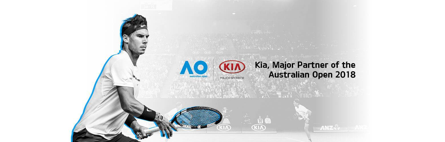 Kia Australian - Major Sponsor to the Australian Open