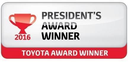 Toyota-President-award