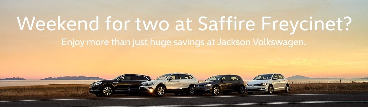 Win a Saffire Freycinet Luxury Package with Jackson Volkswagen Large Image