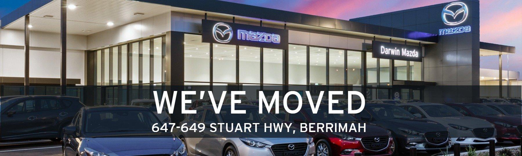Darwin Mazda - We Have Moved!