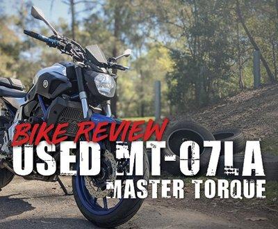 Bike Review: Used MT-07 LAMS image